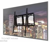 Large Screen Tilt Wall Mount Bracket for 4K Flat HD UHD IPS Smart 3D LED LCD TVs