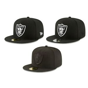 Las Vegas Oakland Raiders NFL Authentic New Era 59FIFTY Fitted Cap - 5950 Hat