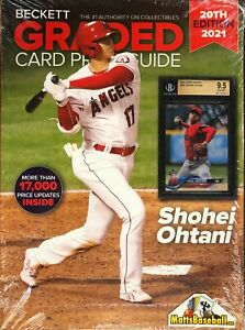 New Beckett Graded Card Price Guide 20th Edition 2021 OHTANI COVER
