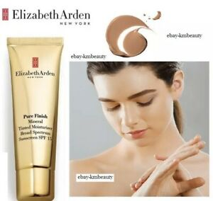 NEW Elizabeth Arden Pure Finish Mineral Tinted Moisturiser - MEDIUM - 50ml SALE!