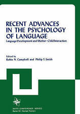 Recent Advances in the Psychology of Language: 004 (Nato Conference Series), , U