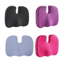 Memory Foam Coccyx Tailbone Seat Cushion Lumbar Posture for Car Home Seat Office