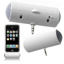 Portable Mini White 3.5mm Music Player Stereo Speaker For iPhone MP3 MP4 Player