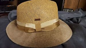 Unique Kangol made in the U.S.A. Swirl Side Sweep Trilby-2 Colors- S or M- NWT