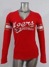 San Francisco 49ers Football NFL women's thermal long sleeve t-shirt S New