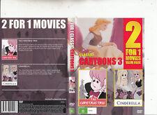 The Christmas Tree/Cinderella-Classic Cartoons 3-Animated CC-DVD