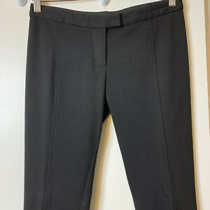"Tory Burch Womens Size XS Ponte Black Pants Inseam 31"""