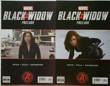 Black Widow Prelude 1-2 Complete Comic Lot Run Set Marvel Collection