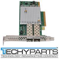 Lot of Qty 2 x SOLARFLARE SF-107224 10Gb Dual Port PCI-E Server Network Card