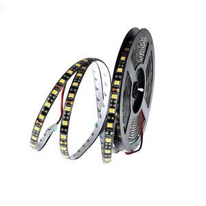 12V 5050 RGB RGBW RGBWW DEL Led strip bande noir PCB lampe de ruban adhésif 1-5M