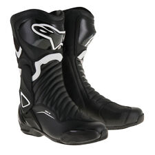 Alpinestars SMX-6 V2 Motorcycle Motorbike Sports Boot - Black/White
