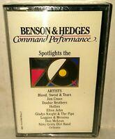 Benson and Hedges Spotlights the 70's Cassette Tape NWOT New Vintage 1988