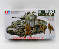 Tamiya Model 35251 1/35 M4A3 Sherman 105mm Howitzer Tank Assault support