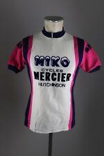 miko mercier Hutchinson vintage cycling Rad Trikot Gr. 3 Rocher bike jersey ES1