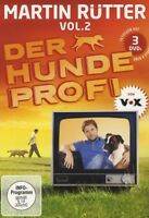 MARTIN RÜTTER - DER HUNDEPROFI VOL. 2 3 DVD NEU