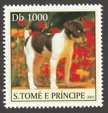 Toy Fox Terrier * Int'l Postage Stamp Collection*Great Gift Idea*