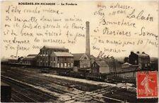 CPA  Rosiéres-en-Picardie - La Fonderie   (515494)