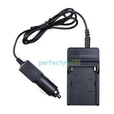 AC Car Travel Battery Charger for Sony NP-970 NP-F570 NP-F730 NP-F750 NP-F930