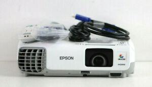 Epson PowerLite 98H 3LCD Projector H577A HDMI Crestron 3K Lumens H30