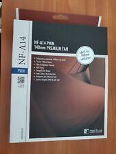 Noctua NF-A14 PWM, Premium Quiet Fan, 4-Pin (140mm, Brown)