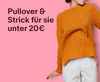 Pullover & Strick für sie unter 20€