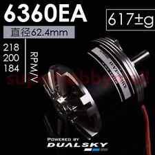 DUALSKY  XM6360EA EA Series Brushless Outrunner Motor 184KV/ 200KV/218KV