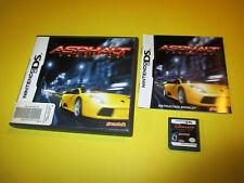 Asphalt Urban GT Nintendo DS Lite DSi XL 3DS w/Case & Manual