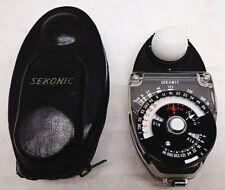 Sekonic Studio Deluxe L-28C2 Light Meter Photography Exposure w/ Case FREE SHIP!