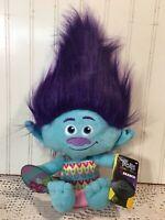 "Trolls World Tour Plush Movie 2020 NEW Doll Stuffed Toy 12"" Branch"
