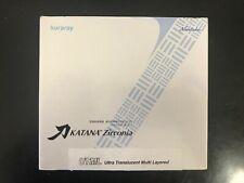 Katana UTML Zirconia Block - 98.5mm x 14mm -  Shade A1  - New Disc In Box