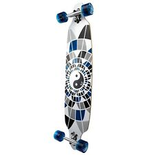 Yocaher Complete Yin-Yang Drop Through Longboard