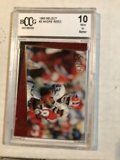 1993 Select Football Andre Reed Bccg 10