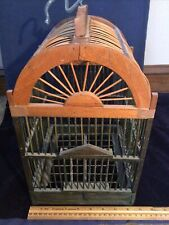 Small Wooden Bird Cage 8.5 Inch X 8.25 X 14 Inch