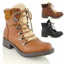 Combat Synthetic Block Casual Women's Boots