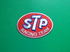 MOTOR RACING OILS, FUELS & TYRES SEW ON / IRON ON PATCH:- STP (a) RACING TEAM