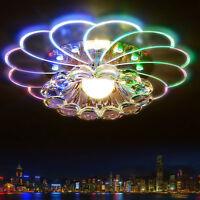 5W LED Kristall Pendelleuchte Kronleuchter Deckenleuchte Lotus Lüster Deckenlamp
