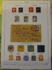 Ancienne Gravure Larousse 1950 Art Print on Original Antique Book Page Guyane