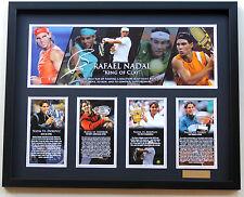 New Rafael Nadal Signed Limited Edition Memorabilia