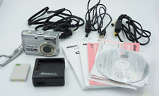 Nikon Coolpix P4 w/ Battery Charger, more Full Bundle w/ Accessories #113