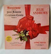 Julie Andrews Christmas Carols Firestone Tires Presents 33
