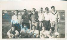 Royal Navy Battleship HMS Ramillies Stopover Ghan Navy football Team 1930