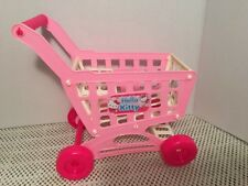 """Fits American 18"""" Girl Doll Clothes Food Carrier Shopping Cart Hello Kity Pink"""