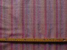 Baumwollstoff (€8,60/m²) 0,5m gestreift altrosa türkis Streifen 1,4m breit
