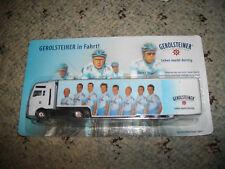 Team Gerolsteiner MAN  Gardinen SZ 1:87 mit  Radrennfahrer Nr.1