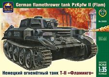 1/35 German flamethrower tank Pz Kpfw Ii (Flamm) Ark Models 35029 Models kits