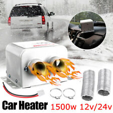 12V/24V 1500W Car Fan Air Heater Demister Defroster Heating Warm Windscreen P