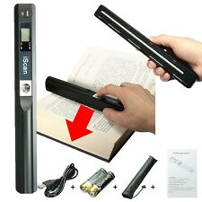 Mini 900 DPI Handheld Scanner Portable HandyScan For A4 Book Photo Document File