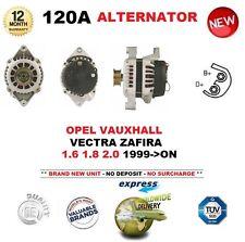 para Opel Opel Vectra Zafira 1.6 1.8 2.0 1999->On NUEVO 120a Alternador unidad