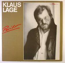 """12"""" LP - Klaus Lage - Positiv - C1901 - washed & cleaned"""