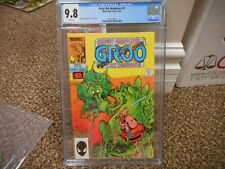 Groo the Wanderer 2 cgc 9.8 Marvel 1985 NM MINT WHITE pgs Sergio Aragones cover